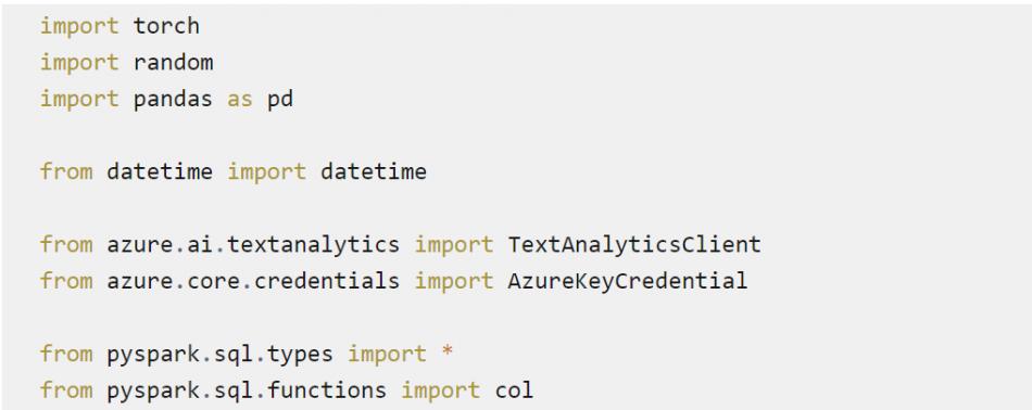 Codage imports types et fonctions