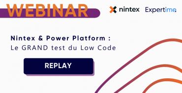 Replay Webinar Nintex et Expertime