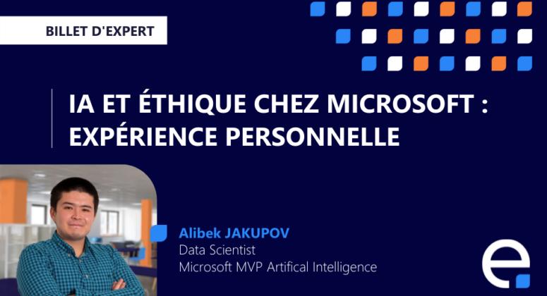 éthique IA machine learning microsoft