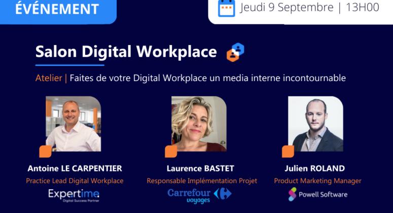 salon digital workplace expertime