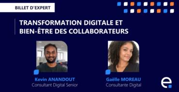 transformation digitale bien être collaborateurs