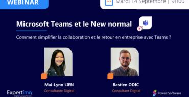 webinar new normal teams